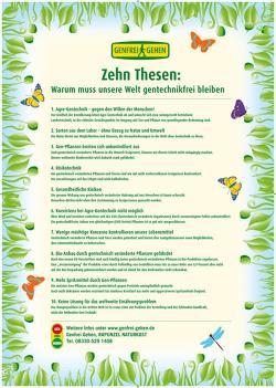 Landwirtschaft News & Agrarwirtschaft News @ Agrar-Center.de | Foto: Diese 10 Thesen für eine gentechnikfreie Welt schlug Bio-Pionier Joseph Wilhelm an das Hauptportal der Lutherkirche in Wittenberg.