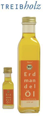 Neue Produkte @ Produkt-Neuheiten.Info   Foto: Messeneuheit Bio-Erdmandel Öl aus erster Kaltpressung von Treibholz.