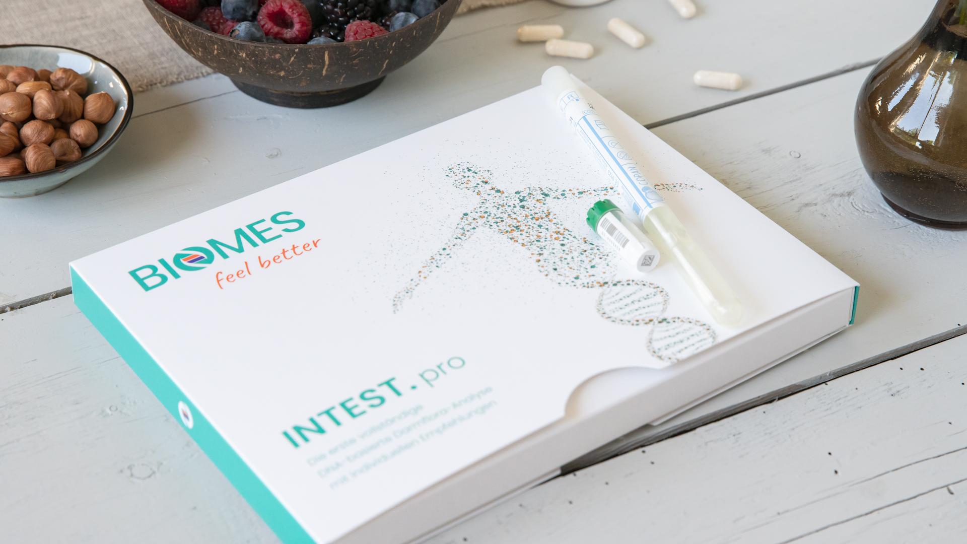 Darmflora-Analyse INTEST.pro (© BIOMES NGS GmbH) | Freie-Pressemitteilungen.de