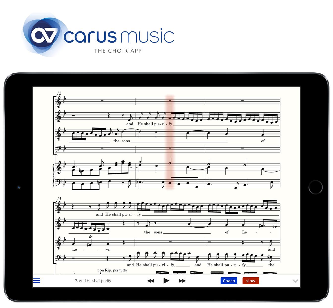 Bayern-24/7.de - Bayern Infos & Bayern Tipps | Mit carus music, der Chor-App, erreicht das Chorstimmenüben eine neue, digitale Dimension.