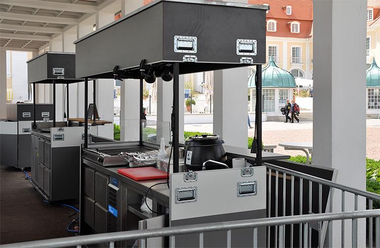 Mobile Stationen für das Ostseebad Binz (Foto: René Reichel / New Gastroline) | Freie-Pressemitteilungen.de