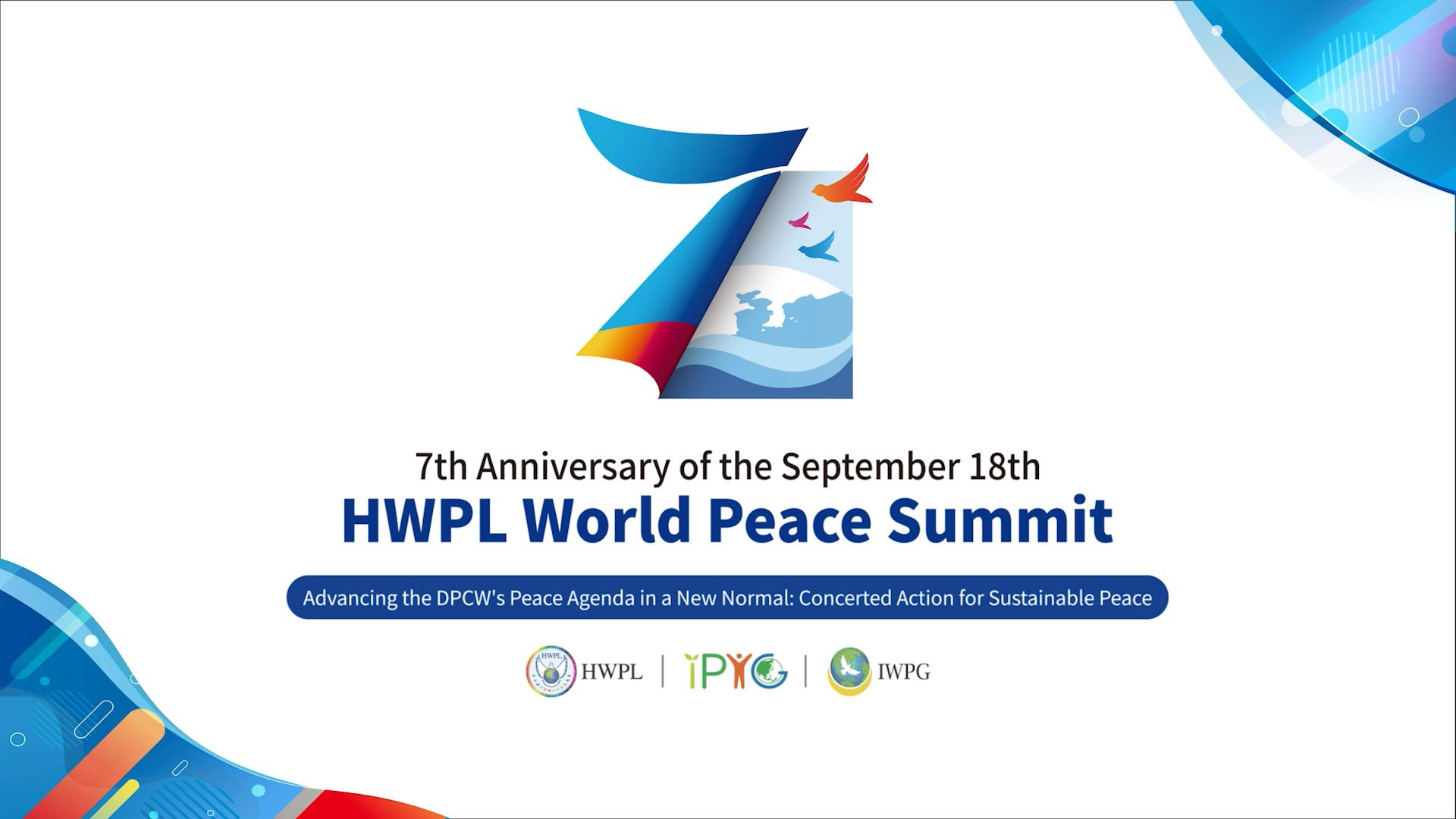 Asien News & Asien Infos & Asien Tipps @ Asien-123.de | 7. Jahrestag des HWPL World Peace Summits mit 32.500: Teilnehmern Stärkung der DPCW-Friedensagenda in der Post-Covid Ära - Gemeinsames Handeln für dauerhaften Frieden