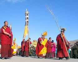 Ost Nachrichten & Osten News | Foto: Mönche aus Rebkong.