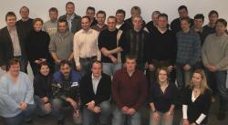 Alternative & Erneuerbare Energien News: Foto: 25 Prozessmanager und Biogasanlagenbediener aus ganz Deutschland trafen sich zu einem Seminar in der CornTec Hauptverwaltung in der Kreisstadt.