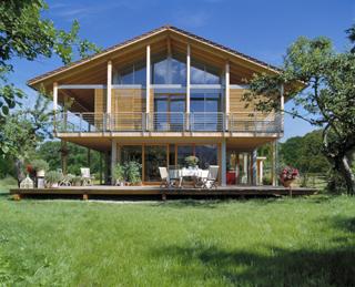 Technik-247.de - Technik Infos & Technik Tipps | Klimaschützendes Bio-Designhaus gebaut aus ökologisch nachhaltigen und CO2 senkenden Baumaterialien.