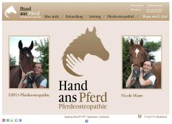 Landwirtschaft News & Agrarwirtschaft News @ Agrar-Center.de | Foto: Startseite von www.hand-ans-pferd.de.