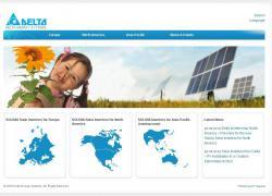 Alternative & Erneuerbare Energien News: Foto: Die Webpräsenz für den Bereich Solar baut auf der Seite www.solar-inverter.com auf, von der man auf alle länderspezifischen Produktseiten für Europa und Nordamerika zugreifen kann.