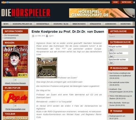 Radio Infos & Radio News @ Radio-247.de | Hoerspielgemeinschaft.de