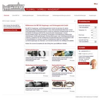 Technik-247.de - Technik Infos & Technik Tipps | METAX Kupplungs- und Dichtungstechnik GmbH