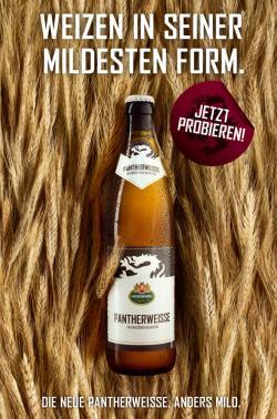Bier-Homepage.de - Rund um's Thema Bier: Biere, Hopfen, Reinheitsgebot, Brauereien. | Foto: Das City Light-Motiv setzt voll auf die Milde des Getreides.