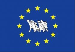 Ost Nachrichten & Osten News | Foto: Fahne der Europäischen Union der Flüchtlinge und Vertriebenen (EUFV).