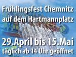 Ost Nachrichten & Osten News | Foto: Reklame Frühlingsfest in Chemnitz.