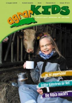 Landwirtschaft News & Agrarwirtschaft News @ Agrar-Center.de | Foto: Titelblatt agrarKIDS, Ausgabe Februar 2009.