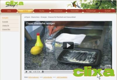 Clixa Onlineshop