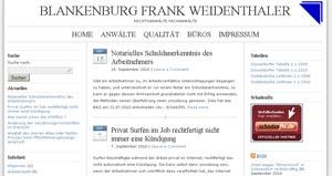 CMS & Blog Infos & CMS & Blog Tipps @ CMS & Blog-News-24/7.de | RA Blankenburg Frank Weidenthaler