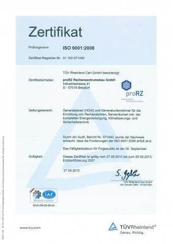Rheinland-Pfalz-Info.Net - Rheinland-Pfalz Infos & Rheinland-Pfalz Tipps | proRZ Rechenzentrumsbau GmbH