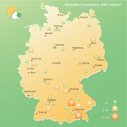 Fertighaus, Plusenergiehaus @ Hausbau-Seite.de | Hausbau & Einfamilienhaus - Foto: Allein in diesem Jahr entstehen 128 neue Sonnenhäuser in Deutschland.
