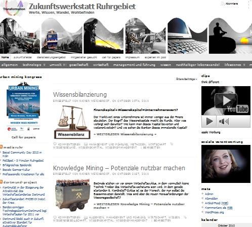 BIO @ Bio-News-Net | Zukunftswerkstatt Ruhrgebiet