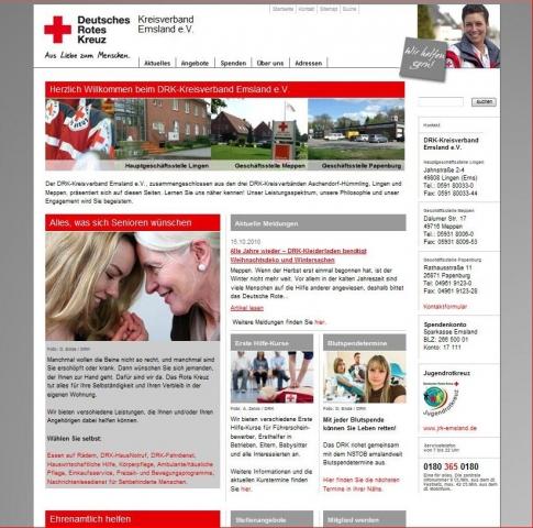 CMS & Blog Infos & CMS & Blog Tipps @ CMS & Blog-News-24/7.de | DRK-Kreisverband Emsland e.V.
