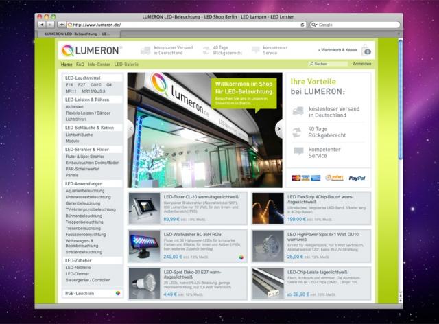 Shopping -News.de - Shopping Infos & Shopping Tipps | LUMERON GmbH