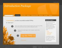 CMS & Blog Infos & CMS & Blog Tipps @ CMS & Blog-News-24/7.de | Foto: Das neue TYPO3 Starter-Paket.