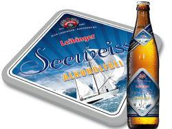 Bier-Homepage.de - Rund um's Thema Bier: Biere, Hopfen, Reinheitsgebot, Brauereien. | Foto: Das neue Erscheinungsbild für die Seeweisse alkoholfrei.