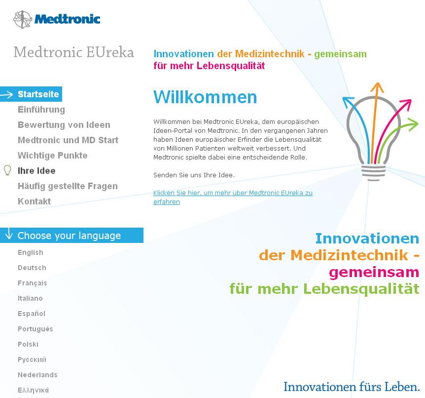 Europa-247.de - Europa Infos & Europa Tipps | Medtronic Gmbh