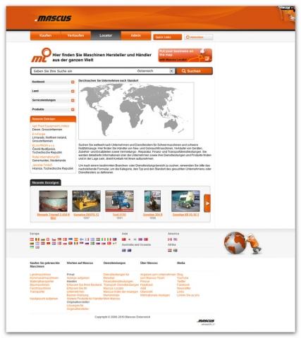 Landwirtschaft News & Agrarwirtschaft News @ Agrar-Center.de | mascus.de /  VM Digital Beteiligungs GmbH
