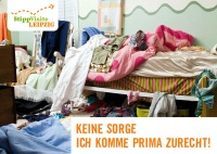 Ost Nachrichten & Osten News | Studentenbude – keine Angst, ich komme prima zurecht (StippVisite Leipzig E-Card)