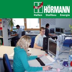 Freie Software, Freie Files @ Freier-Content.de | OpenSource Software News - Foto: Die Firma Hörmann wurde 1960 gegründet. Heute realisieren 420 Mitarbeiter professionelle Lösungen in den Bereichen Hallenbau, Stallbau und Energietechnik.