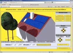 Fertighaus, Plusenergiehaus @ Hausbau-Seite.de | Hausbau & Einfamilienhaus - Foto: Schattenrechner.de - der Schattenwurfsimulator fürs Internet.