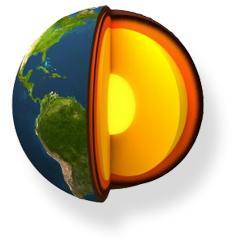 Alternative & Erneuerbare Energien News: Foto: Erdschichten der Erde.