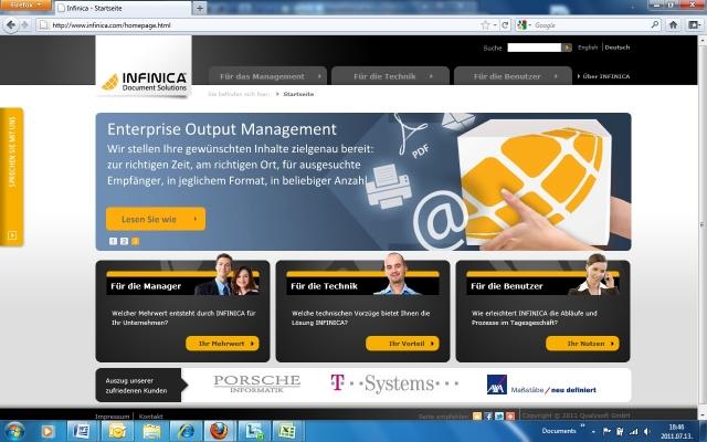 Wien-News.de - Wien Infos & Wien Tipps | Qualysoft GmbH Österreich | INFINICA Division