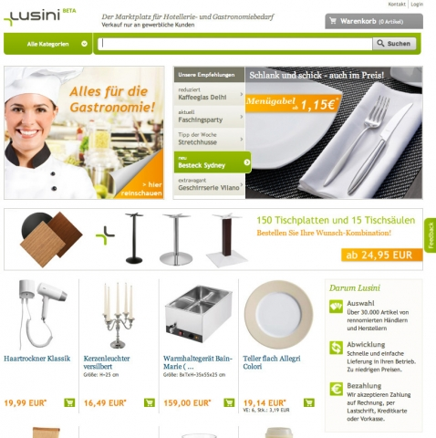 Restaurant Infos & Restaurant News @ Restaurant-Info-123.de | Lusini GmbH