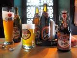 Bier-Homepage.de - Rund um's Thema Bier: Biere, Hopfen, Reinheitsgebot, Brauereien. | Foto: 4 aus 5.000: Schlappeseppels Spezial, Dunkel, Keller- und Weißbier (v.r.n.l.).