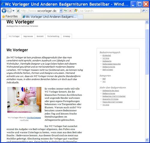 Musik & Lifestyle & Unterhaltung @ Mode-und-Music.de | WcVorleger.de