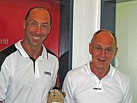 Dr. Hans Schlamp und Dr. Lothar Jakobs