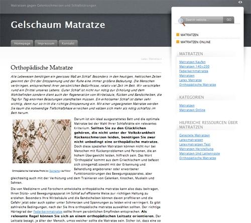 GelschaumMatratze.com