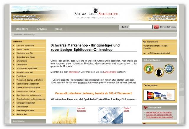 Shopping -News.de - Shopping Infos & Shopping Tipps | Schwarze und Schlichte Markenvertrieb GmbH & Co KG