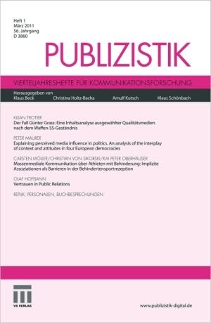 Medien-News.Net - Infos & Tipps rund um Medien | VS Verlag | Springer Fachmedien Wiesbaden GmbH