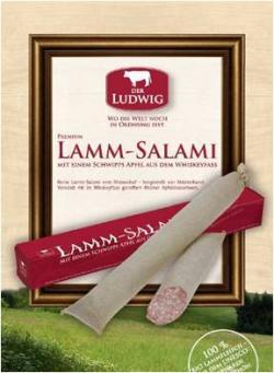 Neue Produkte @ Produkt-Neuheiten.Info   Foto: Die Lammsalami vom Öko-Rhönschaf.
