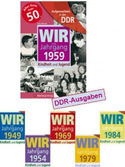 Foto: DDR Jahrgangsbücher für jedes Jahr 1935-1984.