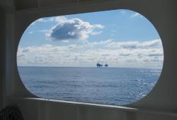 Nordsee-Infos-247.de- Nordsee Infos & Nordsee Tipps | Foto: Ölförderplattform in der Nordsee. (L. Vielstädte, GEOMAR)