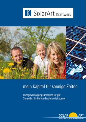 Alternative & Erneuerbare Energien News: SolarArt -Kraftwerk 1 GmbH&Co.KG