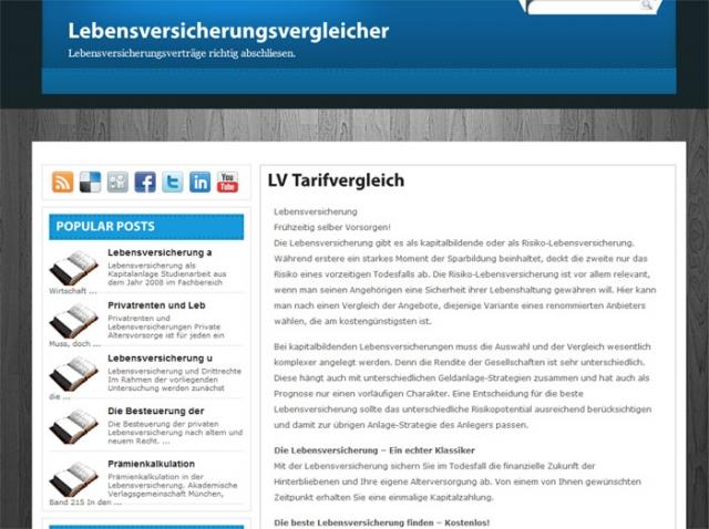 Versicherungen News & Infos   Betrieb von Internetplattformen