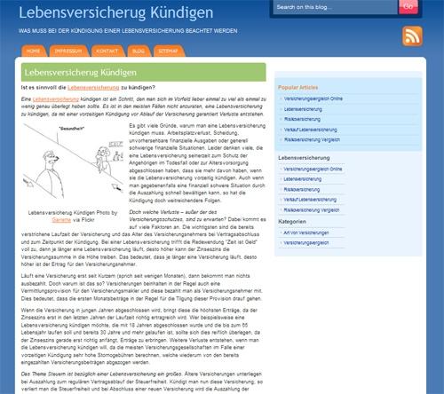 Versicherungen News & Infos | LebensversicherungKuendigen.info