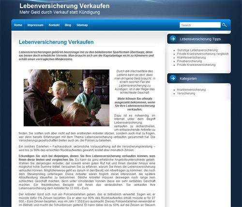 Versicherungen News & Infos | VerkaufenLebensversicherung.de