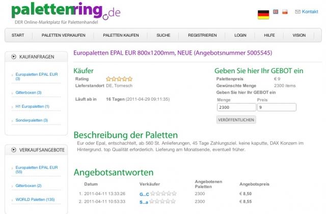 Europa-247.de - Europa Infos & Europa Tipps | Palettenring.de