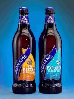 Bier-Homepage.de - Rund um's Thema Bier: Biere, Hopfen, Reinheitsgebot, Brauereien. | Foto: Die 500-Milliliter-Leichtglasflasche, die rund 40 Gramm weniger wiegt als die bisher leichtesten Flaschen auf dem Alemarkt.