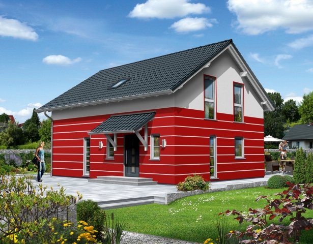 Fertighaus, Plusenergiehaus @ Hausbau-Seite.de | Rensch-Haus